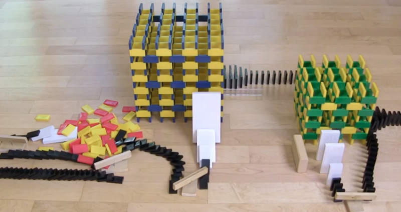 4 Best Amazing Domino Tricks You Will Love To Watch