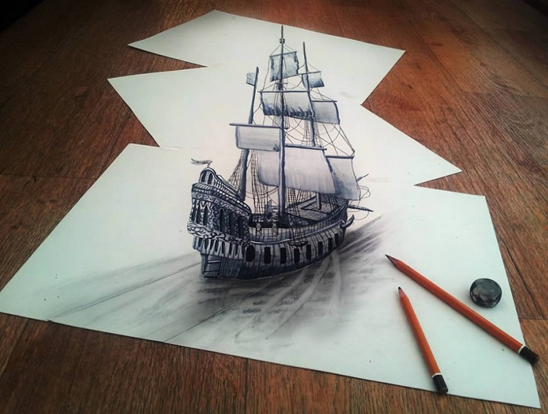 Most Impressive Anamorphic Illusions which will make you surprised